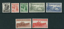 PAPUA NEW GUINEA 1958-60 definitives (Scott 139-45 short 146) VF MNH