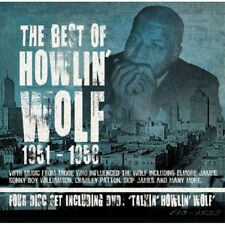 Howlin' Wolf BEST OF 1951-1958 60 Essential Songs PROPER BOX New 3 CD + DVD