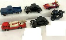 Vintage 1977 Lot of 6 Hot Wheels & Other Diecast Science Fiction Car Fire Truck