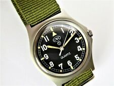 SOLD A CWC military gents fatboy wrist watch 1983. near mint condition. 19695/83