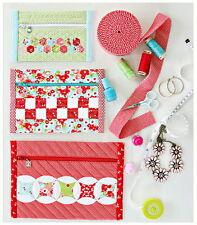 Little Ruby PRETTY PURSES KIT - Set of 3 + Pattern // Moda Fabric by Cotton Way
