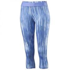 Abbigliamento sportivo da donna blu aderenti Fitness