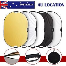 """Selens 60X90cm / 24x36"""" 5in1 Studio Multi Photo Collapsible Light Oval Reflector"""