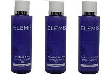 Elemis Revitalize Me Bath & Shower Gel lot of 3 Bottles ea 1.7oz. Total of 5.1oz