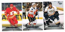 2011-12 GREG NEMISZ UPPER DECK 1 YOUNG GUNS SP ROOKIE #203 FLAMES