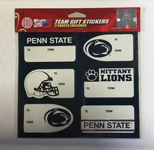 Penn State Christmas Present Name Labels Team Gift Stickers To//From NCAA