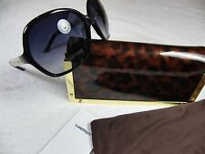 Tory Burch Sunglasses TY 7030 501/11 Black, Grey Gradient Lens New Rare pair