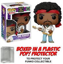 Funko POP! Rocks ~ JIMI HENDRIX VINYL FIGURE w/Protector Case ~ Rock Stars