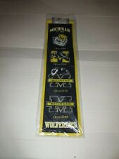 NCAA Michigan Wolverines Heritage Banner