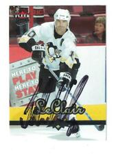 JOHN LECLAIR AUTOGRAPH ULTRA HOCKEY CARD SIGNED PITTSBURGH PENGUINS