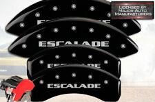 "2007-2020 Cadillac ""Escalade"" ESV Front Rear Black MGP Brake Disc Caliper Covers"