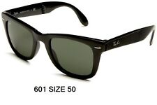 Occhiali da Sole RAYBAN RB 4105 FOLDING WAYFARER 601 BLACK Sunglasses Sonnenbril