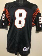New vintage Champion Nfl Cincinnati Bengals blank jersey 8 Jeff Blake