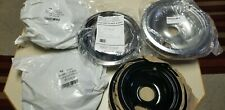 For Ge/Hotpoint & Others, Electric Range Chrome Reflector Bowls, locking Slot