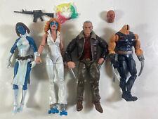 Marvel Legends Set Of 4 Xmen Wolverine Action Figures