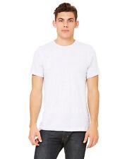 Bella + Canvas Unisex Jersey Short-Sleeve Heather T-Shirt Xs-Xl 22 colors 3001c