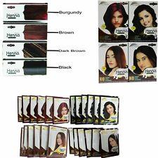 Herbal Henna Powder Hair Colour dye Ammonia Free Natural colours 60g (6 Sachets)