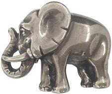 Gürtelschnalle Elefant  silber