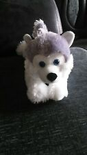 Husky-wolf soft plush