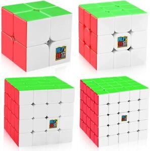 D-FantiX Speed Cube Set, Moyu Mofang Jiaoshi MF2S 2x2 MF3S 3x3 MF4S 4x4 MF5S  B1