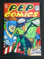 1974 FLASHBACK #16 Pep Comics #17 Special Edition Reprint FN+ 6.5 The Hangman