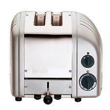 Dualit Classic Vario Aws 2 Slot Toaster Metallic Silver - 20438