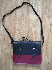 "NEW Satchel Style Faux Leather Hand/Shoulder Bag (11.5"" X 9"") .... Free P&P!!"