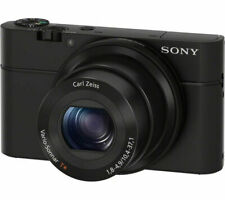 SONY Cyber-shot DSC-RX100 I High Performance Compact Camera - Black