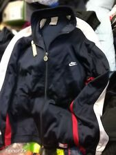 NIKE  VINTAGE TRACKSUIT TOPIN  blue AT £20 IN SIZE  38/40INCH POLYESTER