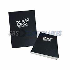 Clairefontaine ZAP LIBRO a6 Sketch Book 100% riciclato 160 Fogli Copertina Nera 3363