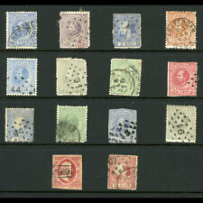 NETHERLANDS. Selection of Early Stamps. 14 Values. Condition Very Mixed. (CA555)