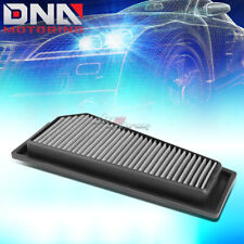 FOR 12-15 BENZ C250/SLK250 SILVER REPLACEMENT RACING DROP IN AIR FILTER PANEL