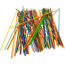 Multi-Colored Wooden Dowel Sticks, 8-Inch, 80-Count