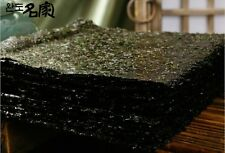100sheets Korean Parae Seaweed Dried Laver Sushi Kimbap Clean Sea Wando Island