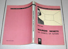 Nuccio Orto MAURIZIO NICHETTI Un comico un autore Ed Metis 1990 Streamers