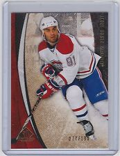 10-11 2010-11 SP GAME USED SCOTT GOMEZ GOLD /100 #51 MONTREAL CANADIENS