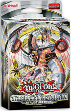 Yugioh Cyber Dragon Revolution (SDCR) Structure Deck (42 Cards)