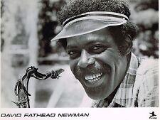"David ""Fathead"" Newman - Keep The Dream Alive - Original Publicity Photo - 1978"