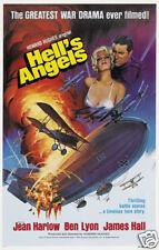 Hell's angels Jean Harlow vintage movie poster print #2