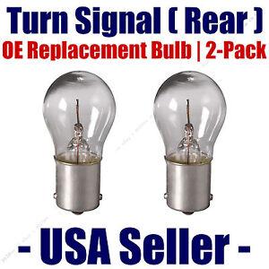 Rear Turn Signal/Blinker Light Bulb 2-pack Fits Listed Lamborghini Vehicles 7506