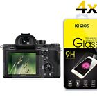 4x Khaos Tempered Glass Screen Protector For Sony RX100 A7M2 A7R A7R2