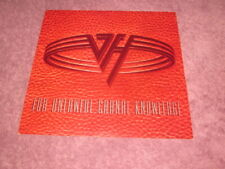 Van Halen 1991 For Unlawful Carnal Knowledge Promo 12x12 Cover Flat Poster