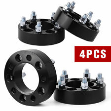 """(4) 1.5"""" inch 5x4.5 to 5x4.5 Hub centric Wheel Spacers For Ford Mustang Ranger"""