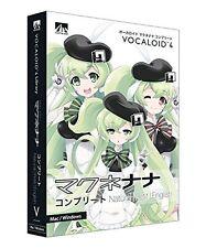 AHS Macne Nana Complete Natural Petit English VOCALOID4 DVD Software FREE EMS
