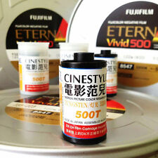 3 roll Fuji FUJIFILM ETERNA Vivid 500T 8547 Color Slide 135 Film EXPIRED FREE SH