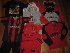 AC Milan HUGE LOT x 10 vtg t shirt jersey Ibrahimovic ACM soccer Youth M L 12 14