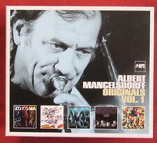 ALBERT  MANGELSDORFF BOX  5CDS ORIGINALS  VOL. 1