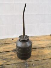 Burette huile ancienne/collection automobilia bidon/garage vintage/déco retro