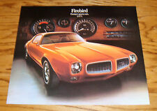 1973 Pontiac Firebird Foldout Sales Brochure 73 Formula Trans Am
