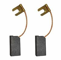 2x Carbon Brushes - Use on Black & Decker Pac Grinder (Size - 6.3 X 12 X 24)